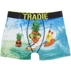 Tradie Mens Surfing Pineapple Boxer Briefs