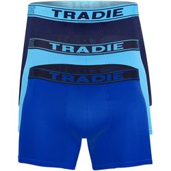 Tradie Mens 3-Pc Solid Quick Dry Boxer Briefs