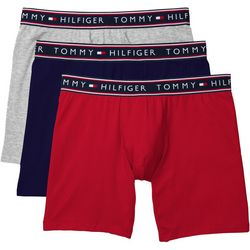 Tommy Hilfiger Mens Essentials 3-pk. Stretch Boxer Briefs