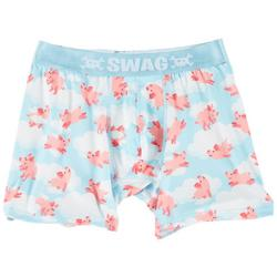 Mens When Pigs Fly Boxer Brief
