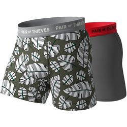 Pair Of Thieves Mens 2-pk. Amazon Leaves Boxer Briefs