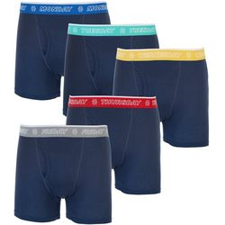 IZOD Mens 5-pk. Solid Weekday Boxer Briefs