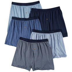 Hanes Mens 5-pk. Classic Knit Boxers