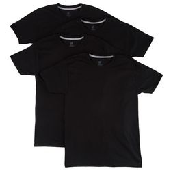 Mens 4-pk. Ultimate Slim Crew T-Shirts