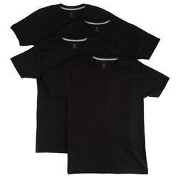 Mens 4-pk. Ultimate Slim Crew T-Shirts