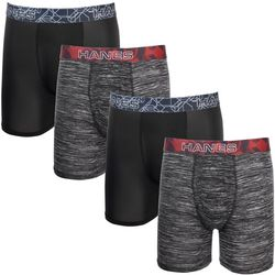 Mens 4-pk. X-Temp Performance Tagless Boxer Briefs