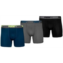 Puma Mens 3-pk. Performance Training Fit Boxer Briefs