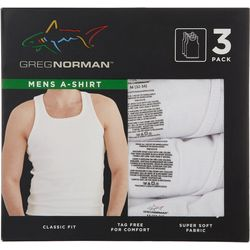 Greg Norman Collection Mens 3-pk. Classic Fit A-Shirt