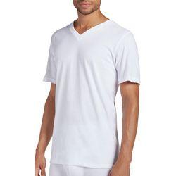 Mens Classics 3-pk. + 1-pk. Bonus V-Neck T-Shirts