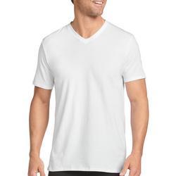 Mens Classics 3-pk. Cotton Stretch V-Neck T-Shirts