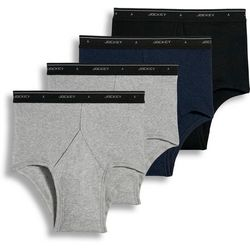 Mens 4-pk. Full Rise Briefs