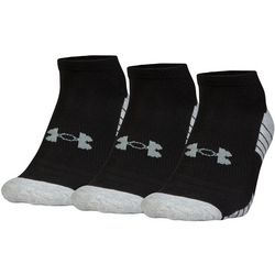 Under Armour Mens 3-pk. HeatGear No Show Socks
