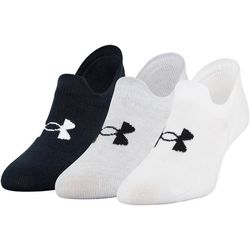 Under Armour Mens 3-pk. Ultra Low Socks