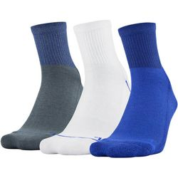 Under Armour Mens 3-pk. Phenom 2.0 Quarter Socks