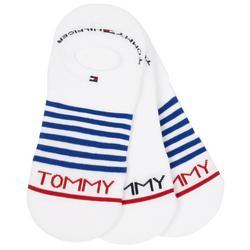 Mens 3-pk. Striped Liner Socks