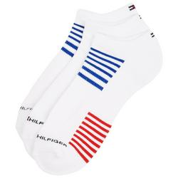 Mens 6-pk. Striped No Show Socks