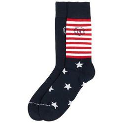 Tommy Hilfiger Mens 2-pk. Stars & Stripes Crew Socks