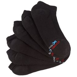 Mens 6-pk. X-Temp Solid No Show Socks