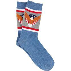 MMG Corp Mens USA Eagle Socks
