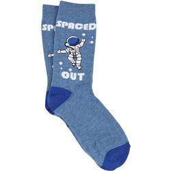 MMG Corp Mens Spaced Out Socks