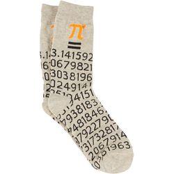 MMG Corp Mens Pi Symbol Socks
