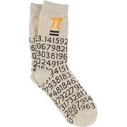 Mens Pi Symbol Socks