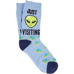 Mens Just Visiting Socks