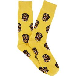 Frenchy & Friends Mens Rottweiler Crew Socks