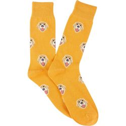 Frenchy & Friends Mens Retriever Crew Socks