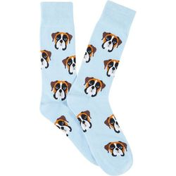 Frenchy & Friends Mens Boxer Crew Socks