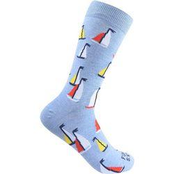 Funky Socks Mens Sail Boat Socks
