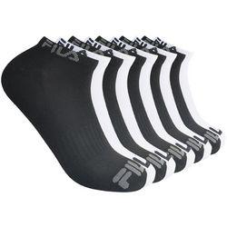 Fila Mens 10-pk. Solid Logo Ankle Socks