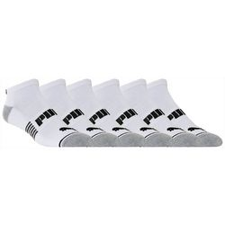 Puma Mens 6-pk. Performance Low Cut Socks