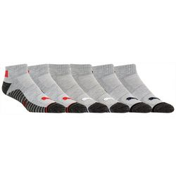 Puma Mens 6-pk. Stripe Training Quarter Crew Socks