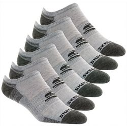Skechers Mens 6-pk. Colorblock No Show Socks
