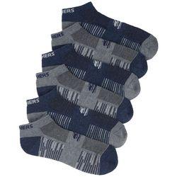 Skechers Mens 6-pk. Colorblocked Low Cut Socks