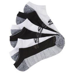 Skechers Mens 6-pk. Sport No Show Socks