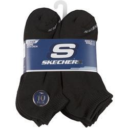 Mens 10-pk. Quarter Crew Socks