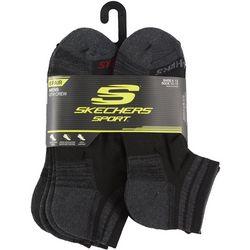 Skechers Mens 6-Pk. Sport Quarter Socks