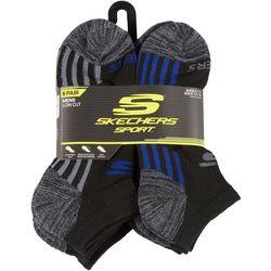 Skechers Mens 6-pk. Mixed Brights Sport Low Cut Socks