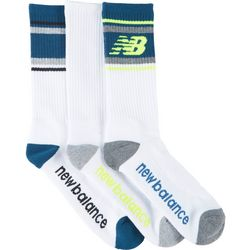 New Balance Mens 3-pk. Performance Cushioned Crew Socks