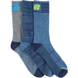 New Balance Mens 3-pk. Performance Crew Socks
