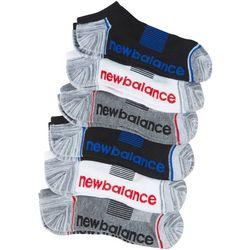 New Balance Mens 6-pk. Essentials No Show Socks
