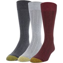 Gold Toe Mens 3-pk. Nantucket Crew Socks