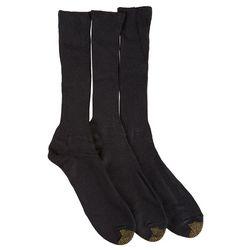 Gold Toe Mens 3-pk. Fluffies Dress Socks