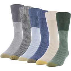 Gold Toe Mens 6-pk. Stanton Crew Socks