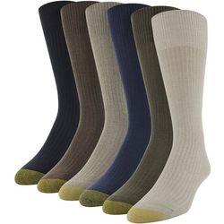 Gold Toe Mens 6-pk. Stanton Crew Socks
