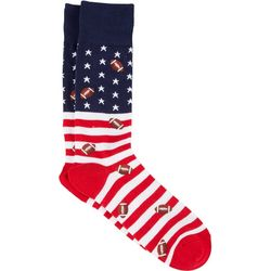 Davco Mens American Football Crew Socks