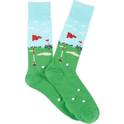 Davco Mens Golf Course Crew Socks