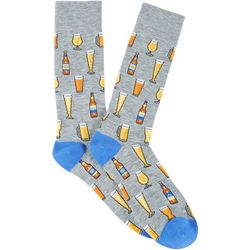 Davco Mens Beer Crew Socks
